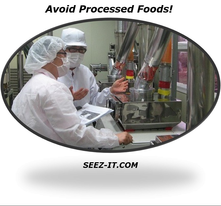 Effects of Eating Processed Food