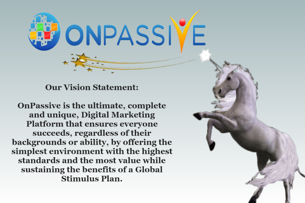 Onpassive Mission Statement